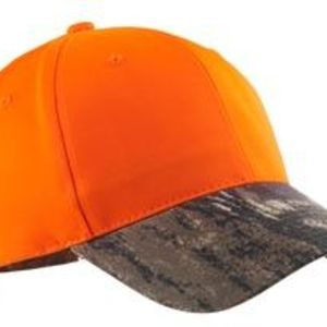 Enhanced Visibility Cap with Camo Brim Thumbnail