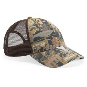 Oil Field Camo Cap With Mesh Back Thumbnail