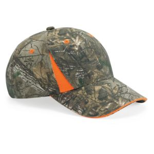 Camo Cap With Hi-Vis Trim Thumbnail