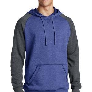 Young Mens Lightweight Fleece Raglan Hoodie Thumbnail