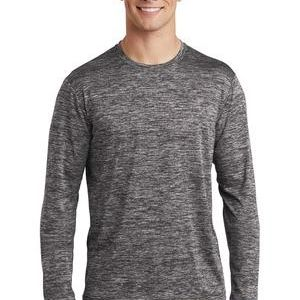 ® PosiCharge ® Long Sleeve Electric Heather Tee Thumbnail