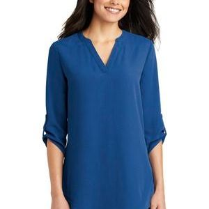 Ladies 3/4 Sleeve Tunic Blouse Thumbnail