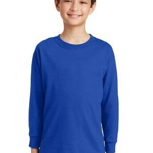 Youth Heavy Cotton ™ 100% Cotton Long Sleeve T Shirt Thumbnail